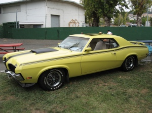 1970 Mercury Cougar by The Brain Toad