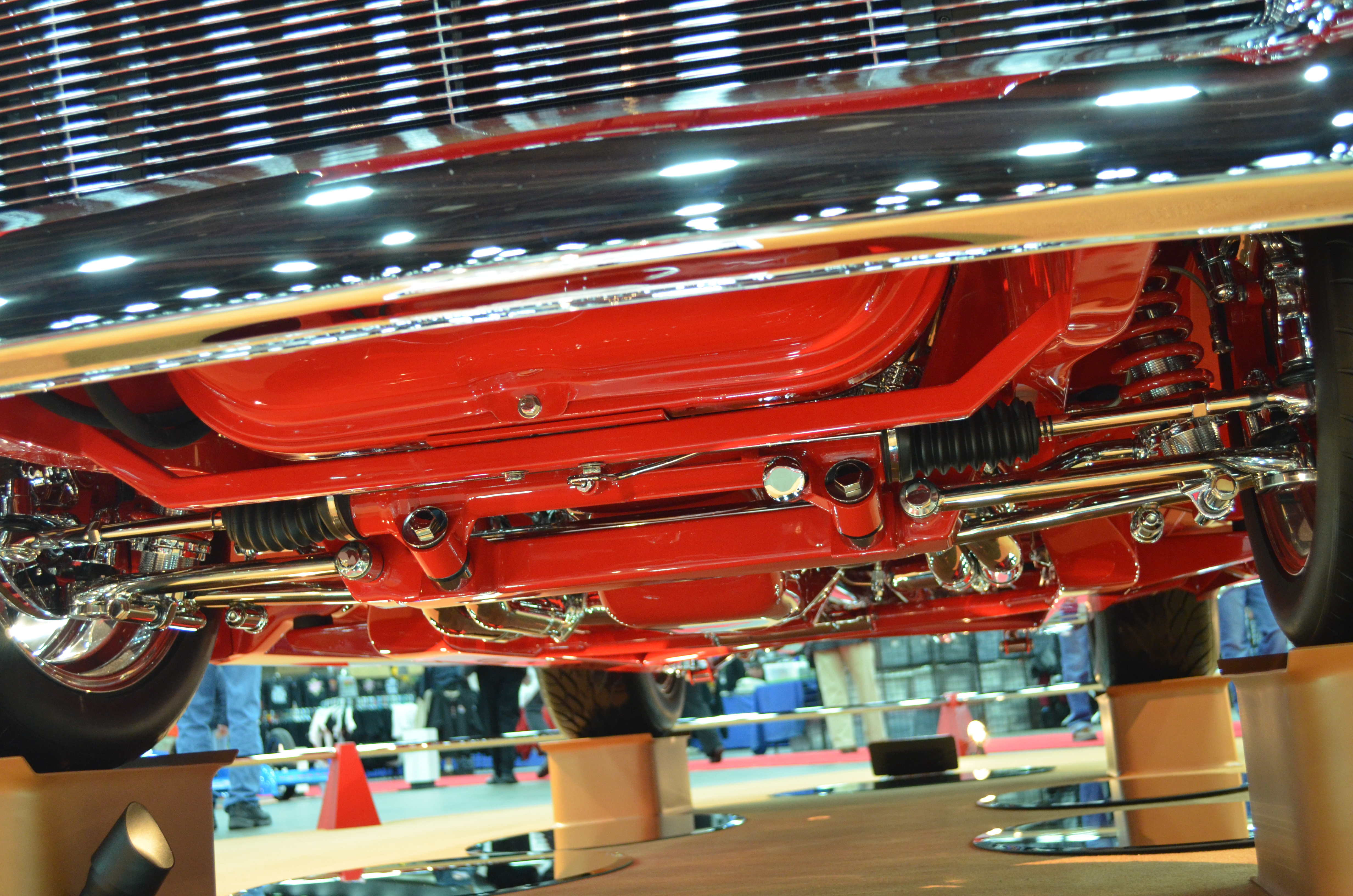 Suspension An Introduction To Harnessing Your Engine Power - Car show wheel stands